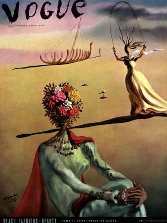Vogue Cover - June 1939 - Dali's Dreams