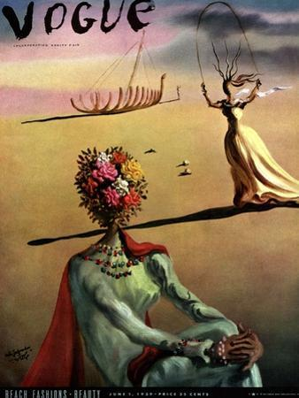 Vogue Cover - June 1939 - Dali's Dreams