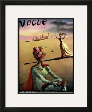 Vogue Cover - June 1939 by Salvador Dalí