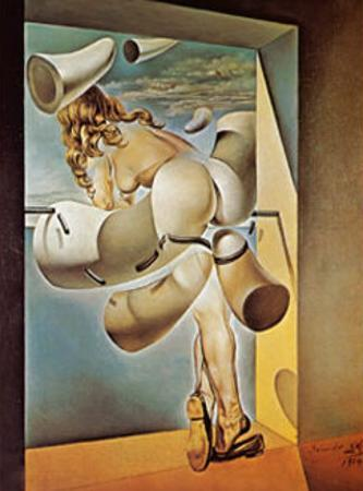 Young Virgin Auto-Sodomized by Her Own Chastity, c.1954 by Salvador Dalí
