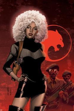 Black Panther No.34 Cover: Storm by Salvador Larroca