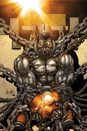 Cable and X-Force #6 Cover: Colossus