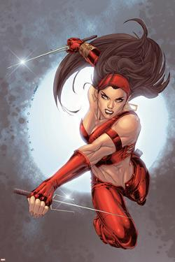 Ultimate Elektra No.5 Cover: Elektra by Salvador Larroca