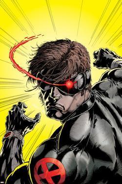 Uncanny X-Men No.391 Cover: Cyclops by Salvador Larroca