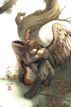 Uncanny X-Men No.438 Cover: Icarus by Salvador Larroca