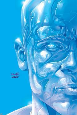 X-Men No.157 Cover: Iceman by Salvador Larroca