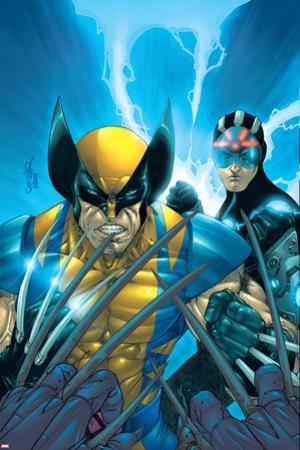 X-Men No.159 Cover: Wolverine and Havok