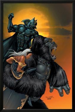 X-Men No.176 Cover: Storm, Black Panther and Super Apes by Salvador Larroca
