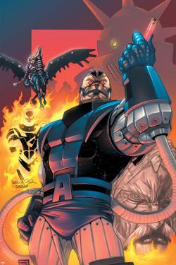 X-Men No.183 Cover: Apocalypse by Salvador Larroca