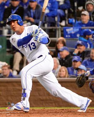 Salvador Perez Game 2 of the 2015 World Series
