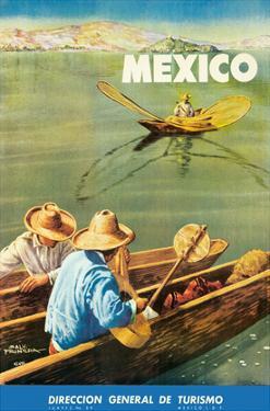 Dirección General de Turismo: Lake Chapala, Mexico c.1948 by Salvador Pruneda