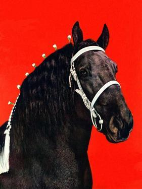 """Prize Draft Horse,""September 1, 1944 by Salvadore Pinto"