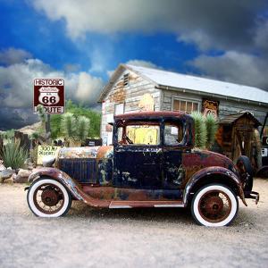 Old Rusty Car in America by Salvatore Elia