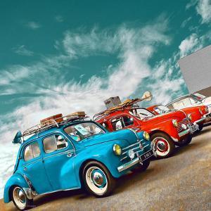 Retro Americana Cars by Salvatore Elia