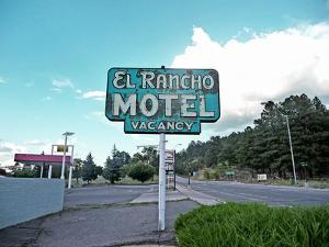 Retro Sign in USA by Salvatore Elia