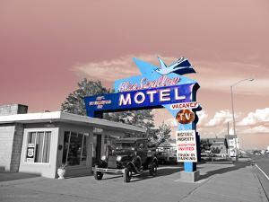 Vintage Neon Motel Sign in America by Salvatore Elia
