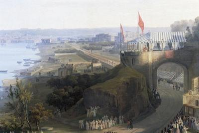 Opening of Railway Line from Naples to Portici, 1840