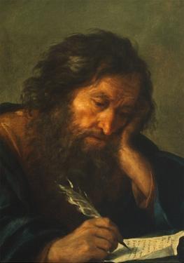 An Evangelist by Salvatore Rosa