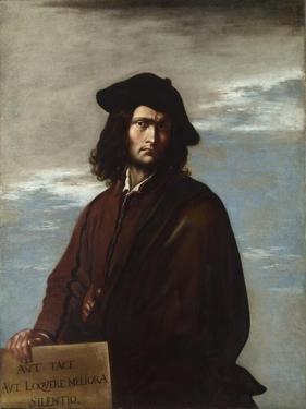 Philosophy (Self-Portrai), C. 1645 by Salvatore Rosa