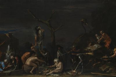 Witches at their Incantations, C. 1646