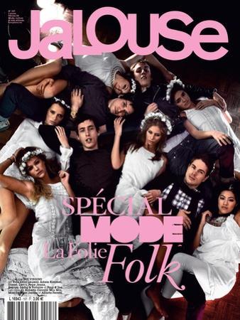 Jalouse, February 2008 - Whitney, Esti, Janaina by Sam Basset