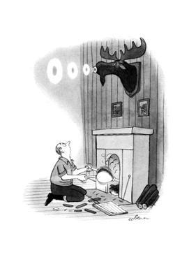 New Yorker Cartoon by Sam Cobean