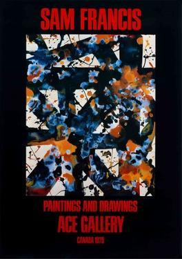Paintings and Drawings by Sam Francis