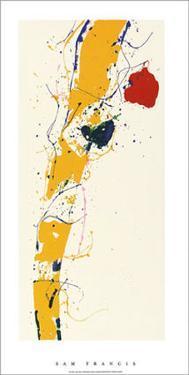 Untitled, c.1985 by Sam Francis