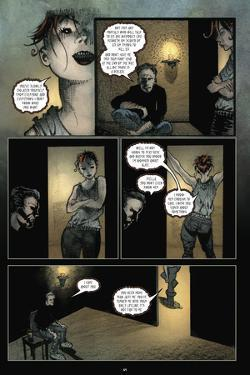 30 Days of Night: Volume 1 Beginning of the End - Comic Page with Panels by Sam Kieth