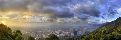 A Panoramic View of Bogota, Colombia by Sam Kittner