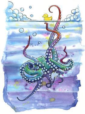 Bath Time Octopus by Sam Nagel