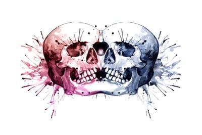 Conjoined Skull by Sam Nagel