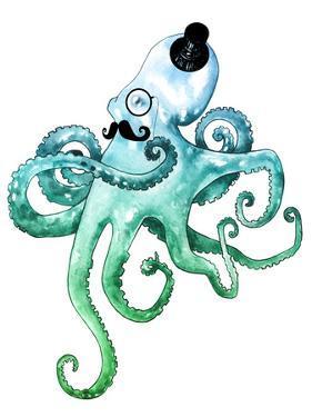 Dapper Octopus by Sam Nagel