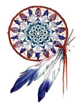 Dream Catcher Mandala by Sam Nagel