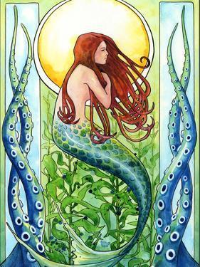 Kelp Forest Mermaid by Sam Nagel