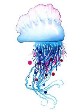 Man O' War Jellyfish by Sam Nagel