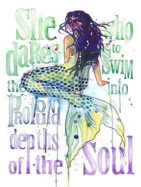 Mermaid Profound Depths by Sam Nagel