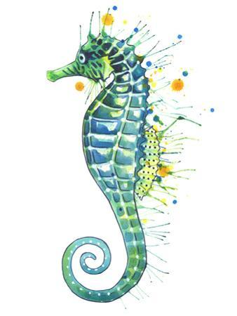Seahorse Green by Sam Nagel