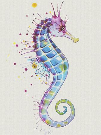Seahorse Purple Natural by Sam Nagel