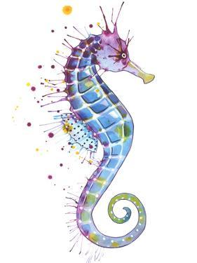 Seahorse Purple by Sam Nagel