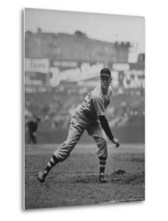 Red Sox Dave Ferriss Pitching to Yankee Player at Yankee Stadium During Game by Sam Shere