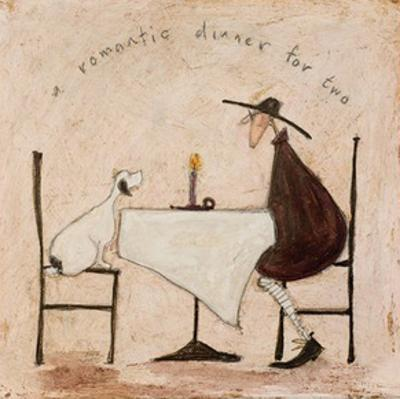 A Romantic Dinner For Two by Sam Toft