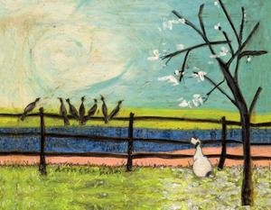 Doris and the Birdies by Sam Toft