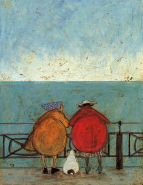 Doris Earwigging by Sam Toft