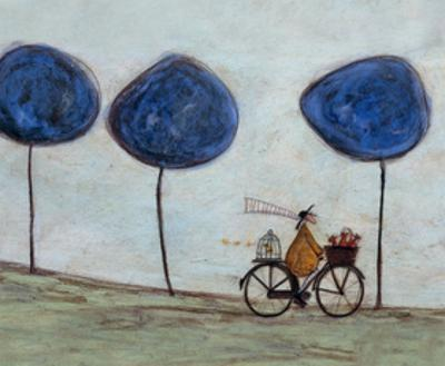 Freewheelin' with Joyce Greenfields and the Felix 3 by Sam Toft