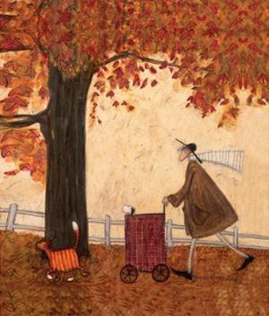 Squeeze Amid the Trees by Sam Toft