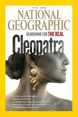 Cover of the July, 2011 National Geographic Magazine by Sam Weber