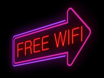 Free Wifi Concept