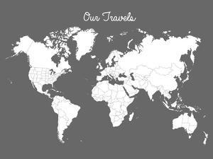 Our Travels Steel by Samantha Ranlet