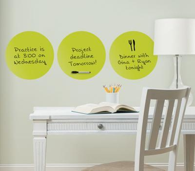 Samara 3 Dots Dry Erase Wall Decal Sticker